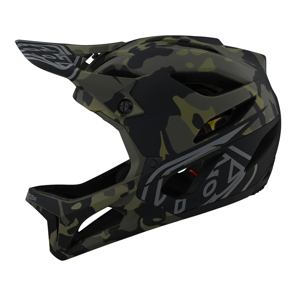 Casque Troy Lee Designs Stage Mips Camo Olive