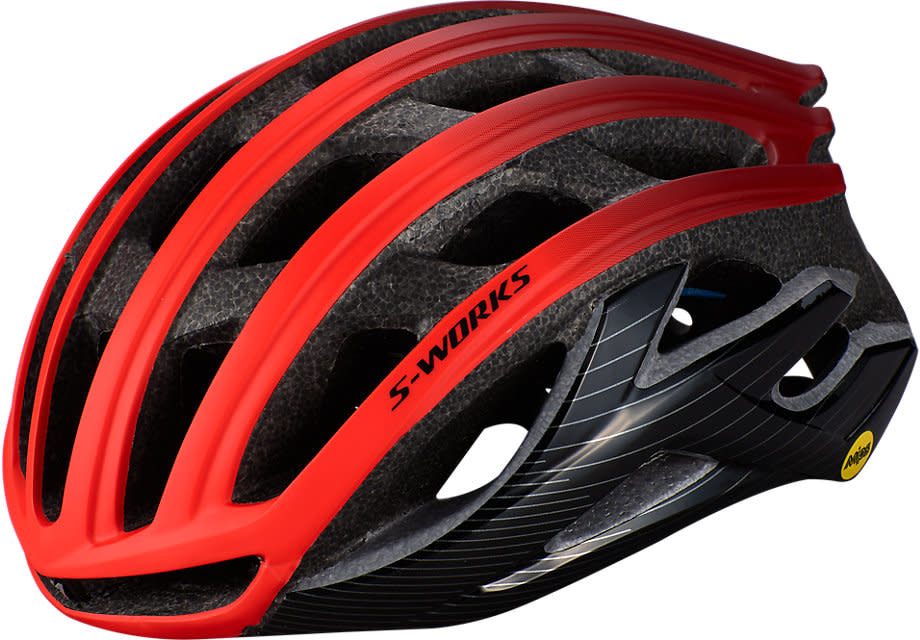 Casque Specialized S-Works Prevail 2 Angi MIPS CPSC Rouge/Noir