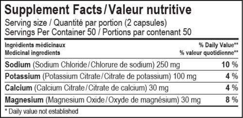 Capsule d'électrolyte Spark (100 unités)