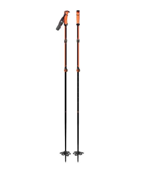 Bâton télescopique G3 VIA Alu Noir/Orange