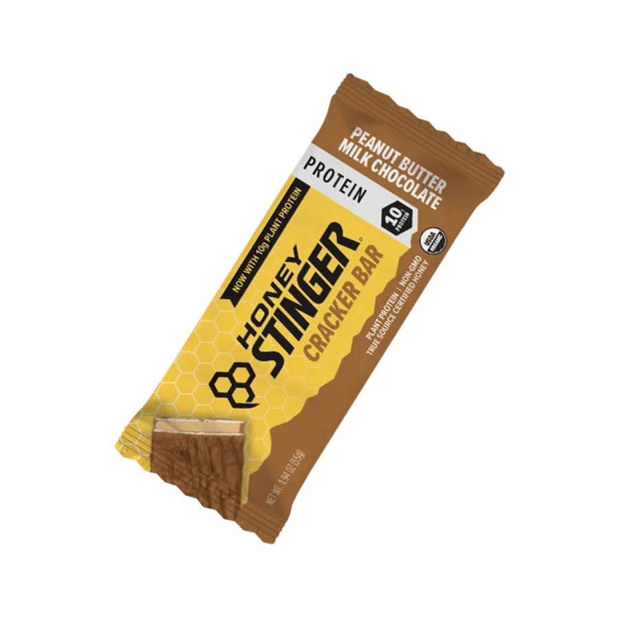 Barre croustillante Honey Stinger Chocolat au lait/Beurre d'arachide 55g