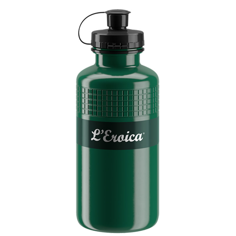 Bidon Elite Vintage Squeeze Vert 550ml