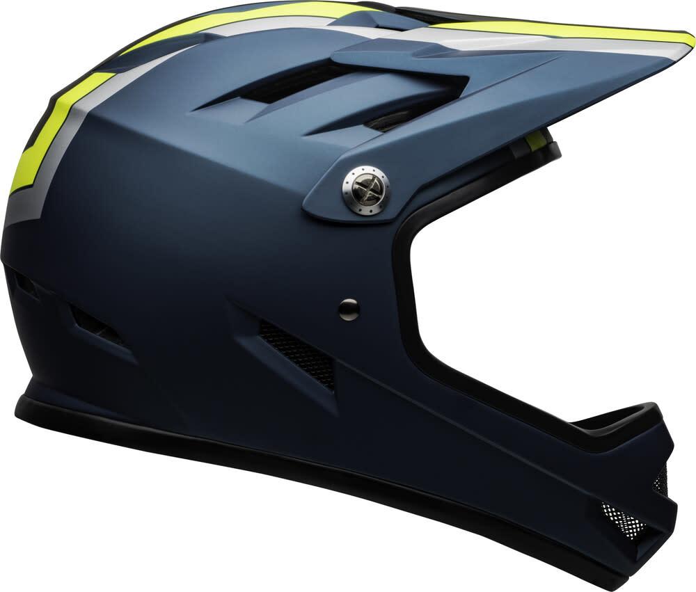 Bell Sanction Helmet Matte Blue/Hi-Viz XS