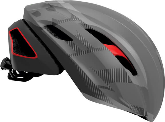 Casque Bell Z20 Aero MIPS Gris/Rouge Large