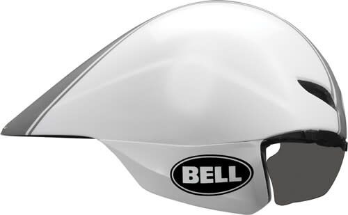 Casque Bell Javelin Blanc/Argent Small