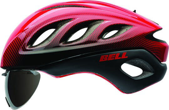 Bell Star Pro Shield Helmet Red/Silver Blur Small