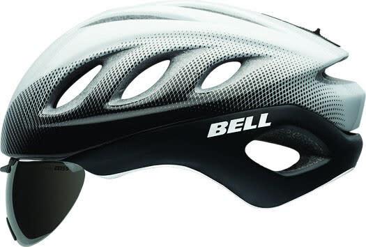 Bell Star Pro Shield Helmet White/Black Blur Large