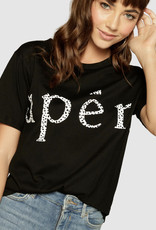 Apero Apero Wilderness Printed Tee Black