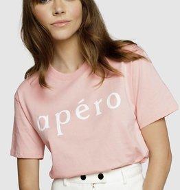 Apero Apero Printed Tee Dusty Pink