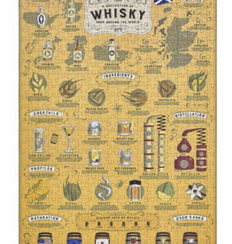 Wild & Wolf Whisky Lovers Jigsaw Puzzle