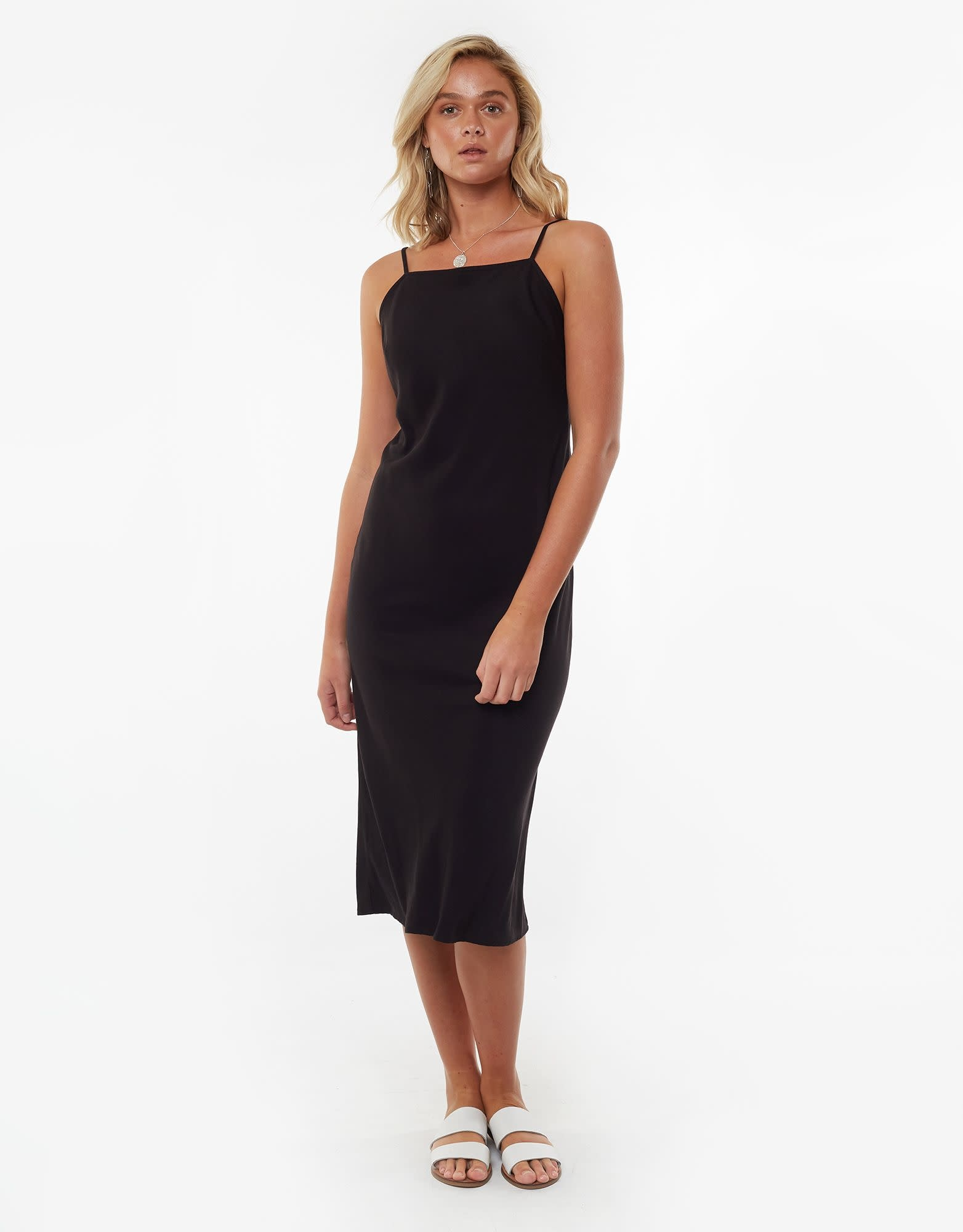 All About Eve Billie Midi Dress Black