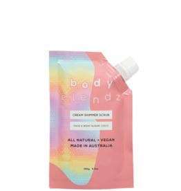 Body Blendz Sugar Coco Cream Shimmer Scrub