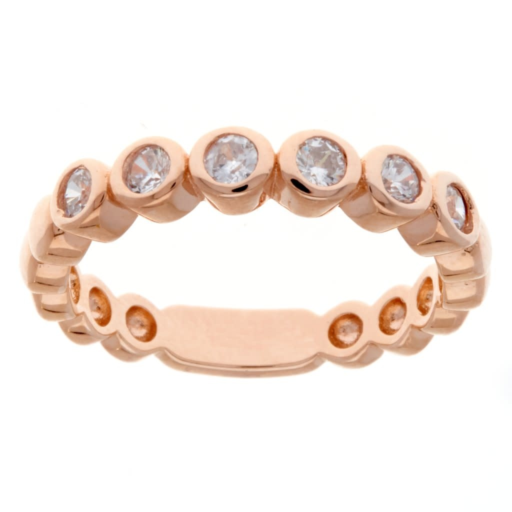 Sybella R1709 Rose Gold Size 8