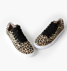 Walnut Harris Sneaker Tan Leopard