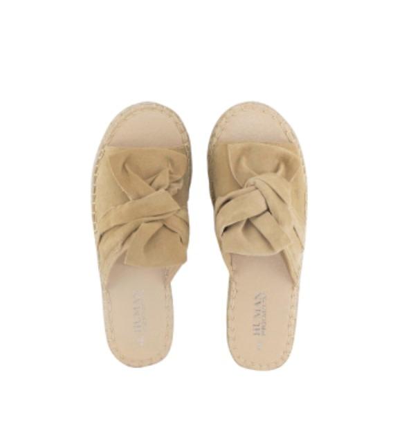 Bow Tan Slides