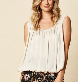 Eb & Ive Zena Drawstring Top