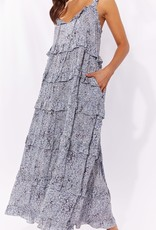 Haven Havana Frill Maxi Dress