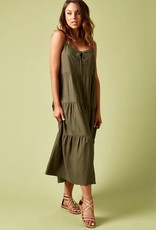 Isle Of Mine Ivy Palm Maxi Dress