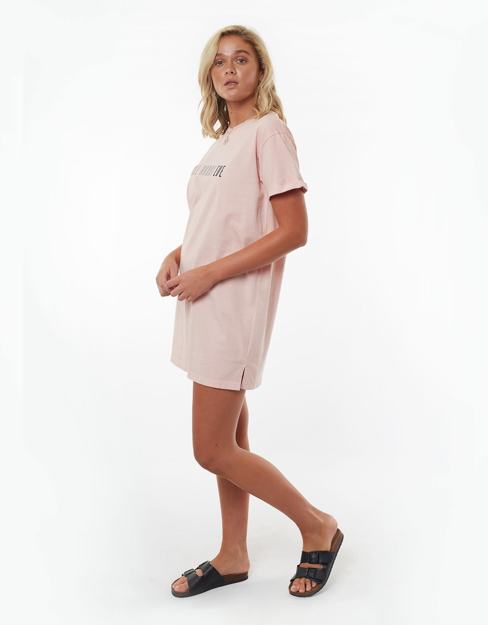 All About Eve Eve Tee Dress Musk