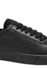 Superga 2843 Club S Black Leather