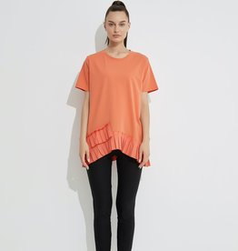Tirelli Pleated Hem Tee