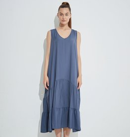 Tirelli Tiered V Neck dress