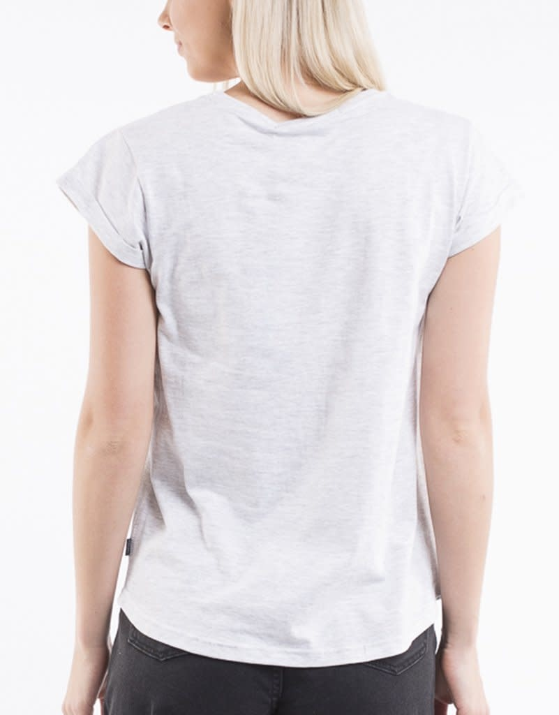 Silent Theory Lucy Tee Grey Marle