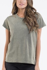 Silent Theory Lucy tee Khaki