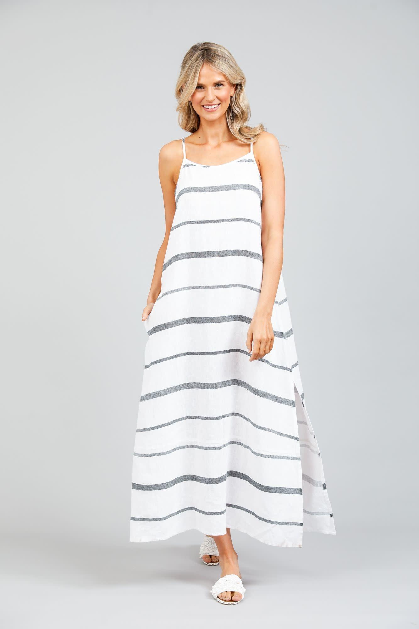 Cliffside Maxi Dress Stripe