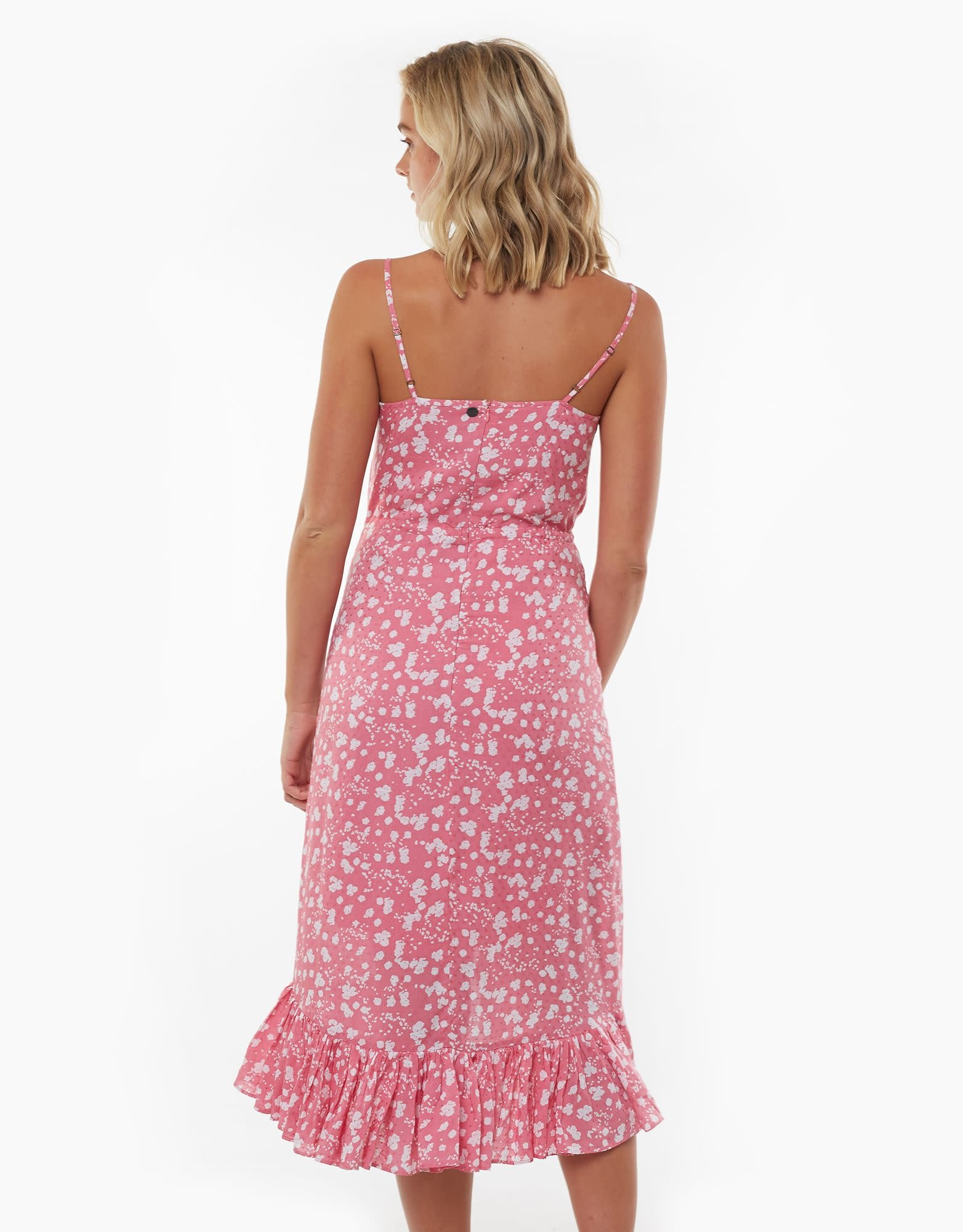 All About Eve Abstract Ditsy Midi Dress