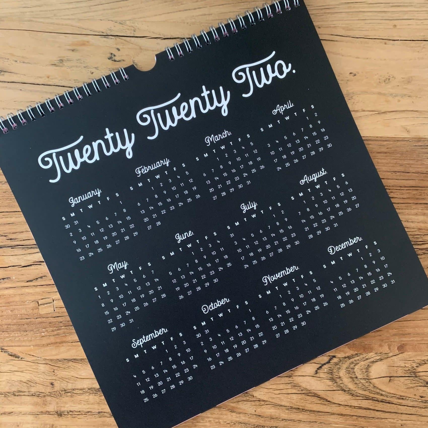 Pretty In Ink Calendar