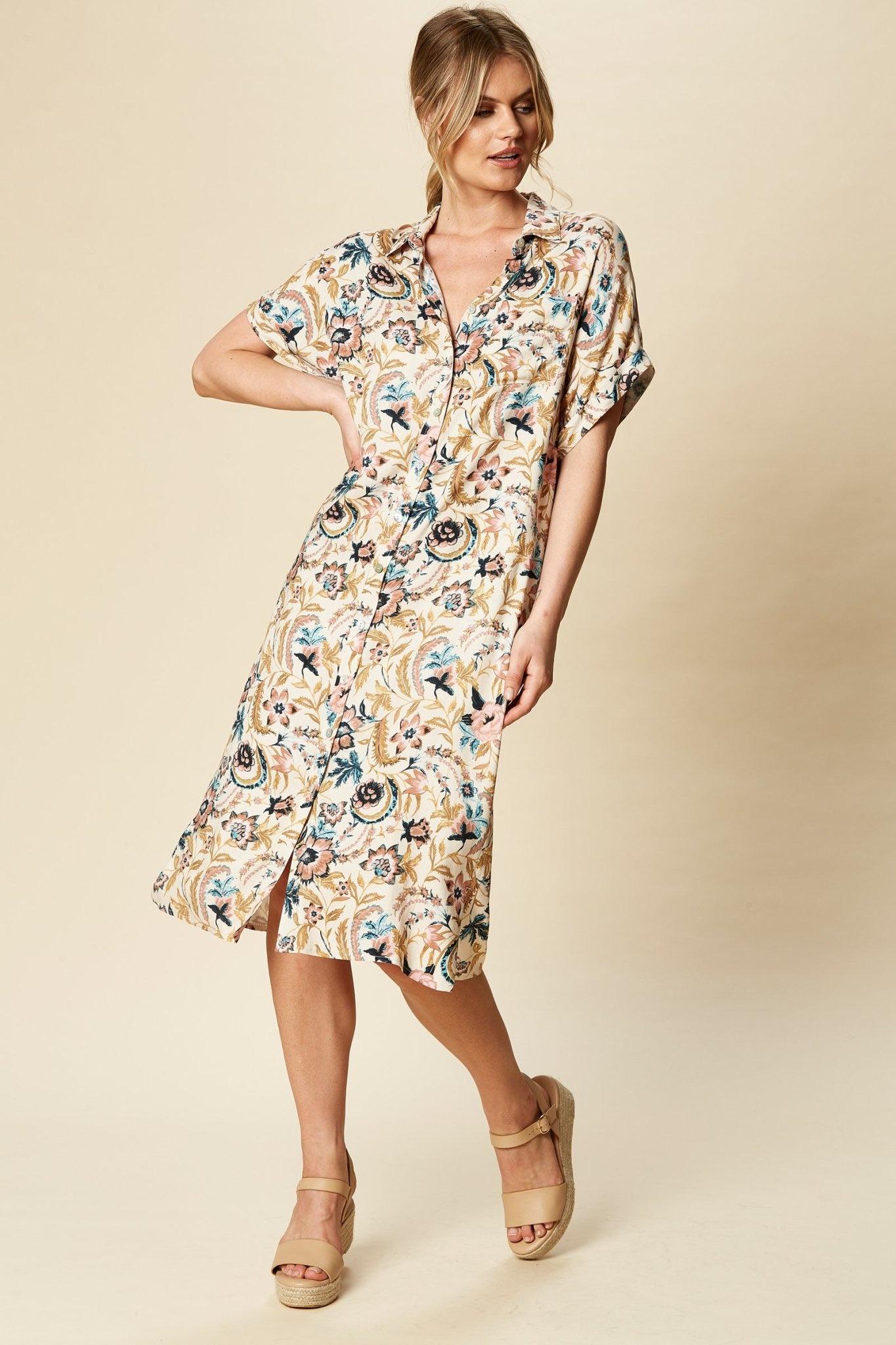Eb & Ive Ohana Shirt Dress
