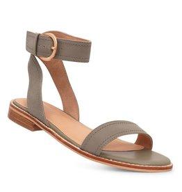 Nude Shoes Athena Dusty Sage Nubick