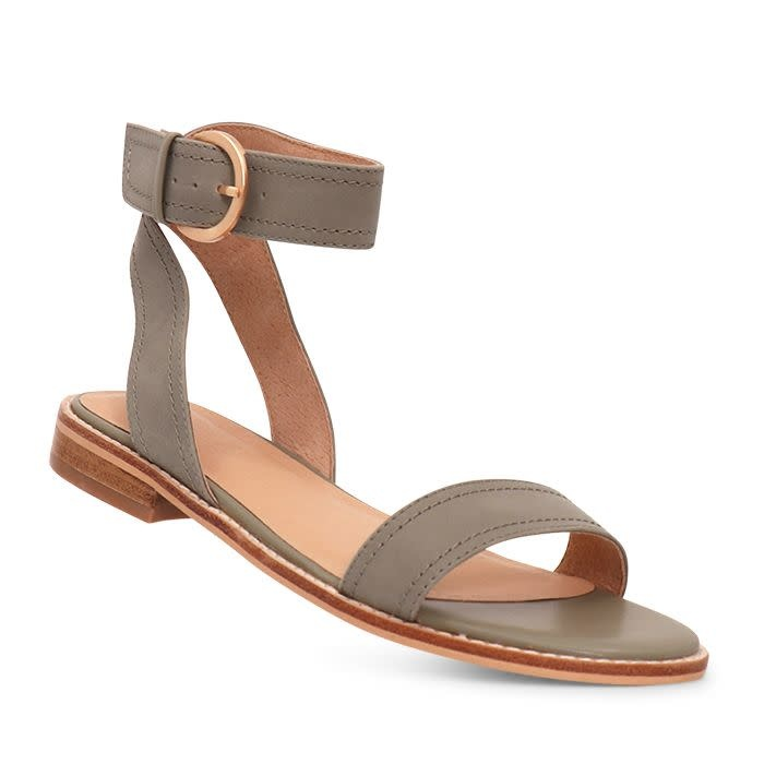 Nude Shoes Athena Dusty Sage Nubick