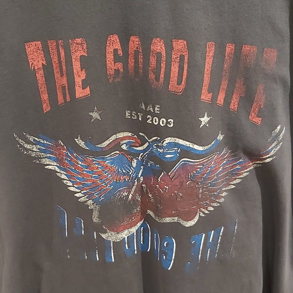 Silent Theory The Good Life Tee Charcaoal