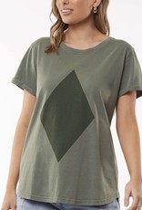 Foxwood Diamond Tee Khaki