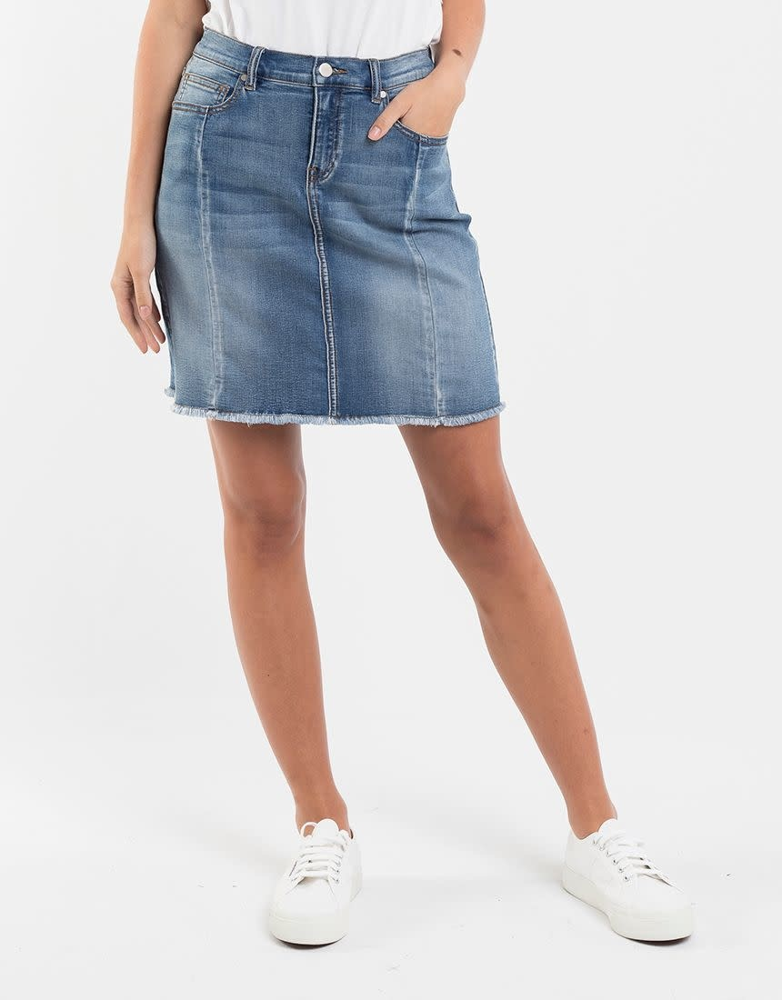 Foxwood Kiama Skirt Denim