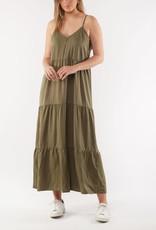 Foxwood Miracle Midi Dress Khaki