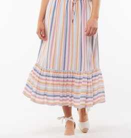Elm Sunset Stripe Skirt