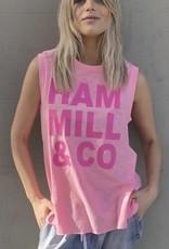 Cat Hammill Logo tank