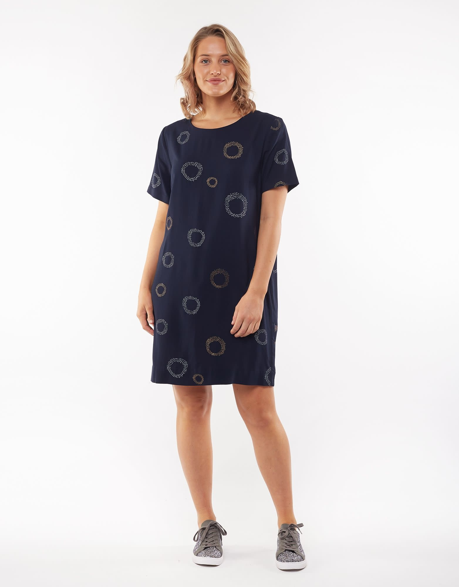 Elm Star Burst Shift Dress