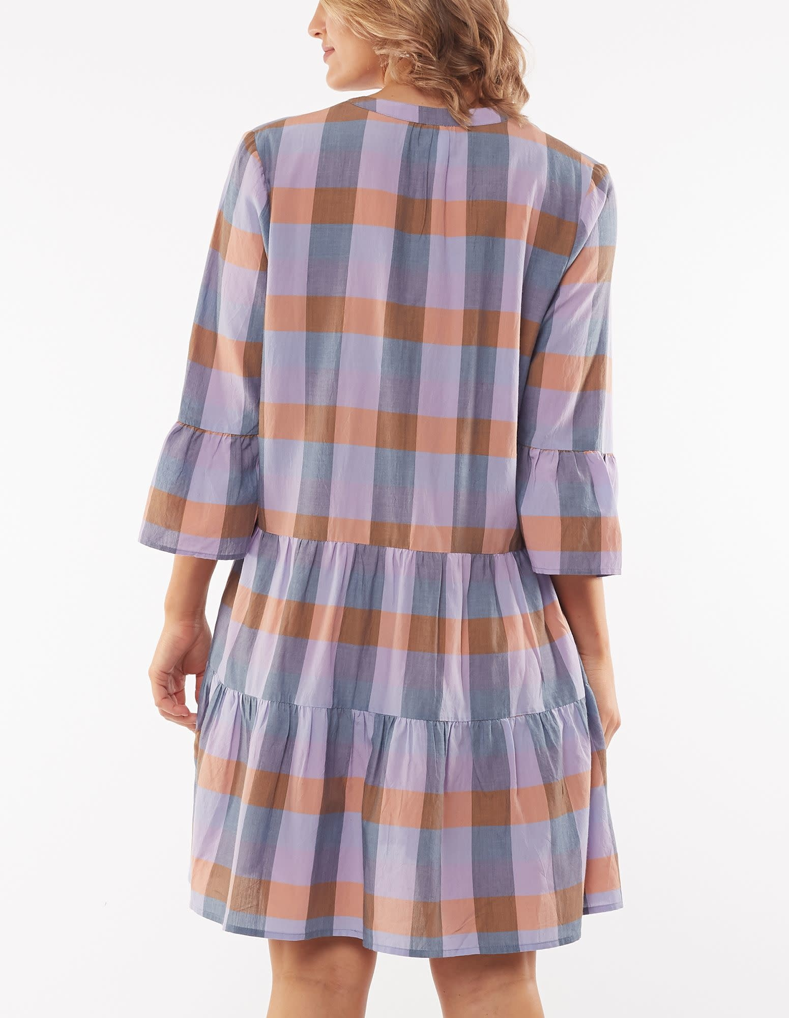 Elm Eva Check Dress