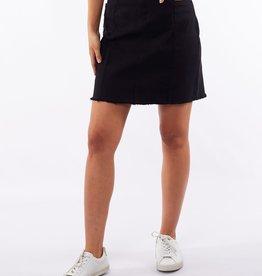 Foxwood Kiama Skirt Overdyed Black