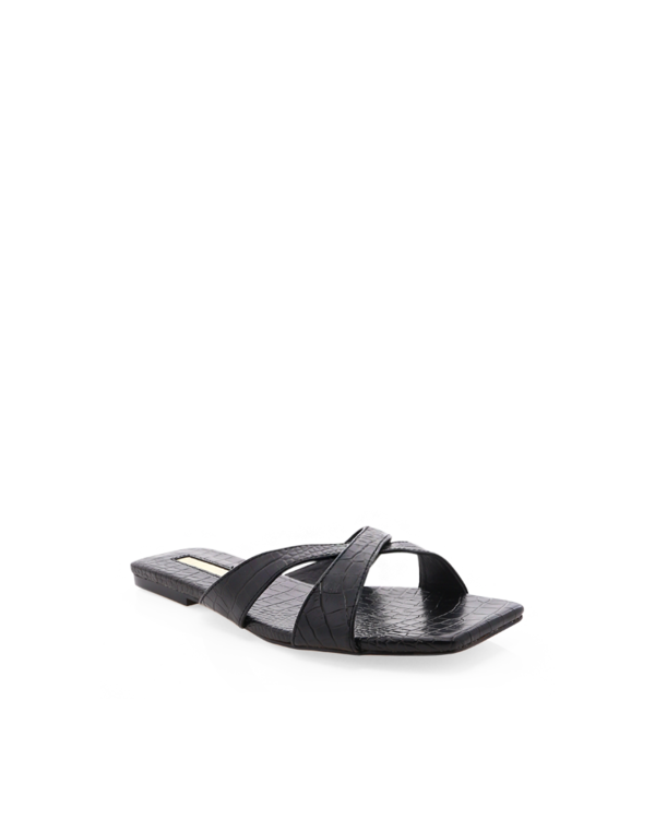 Billini Flynn Black Croc