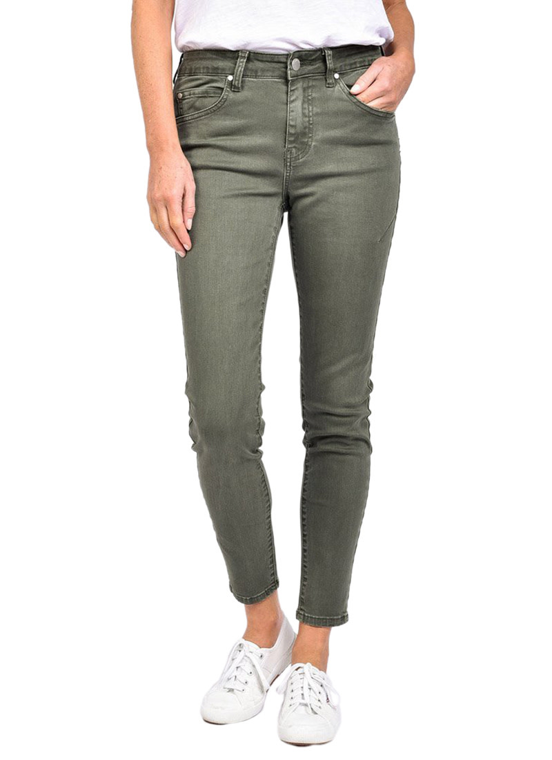 Foxwood City Jean Khaki