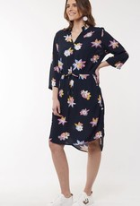 Elm Abstract Floral Dress