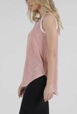Betty Basics Keira Tank Tangello Stripe