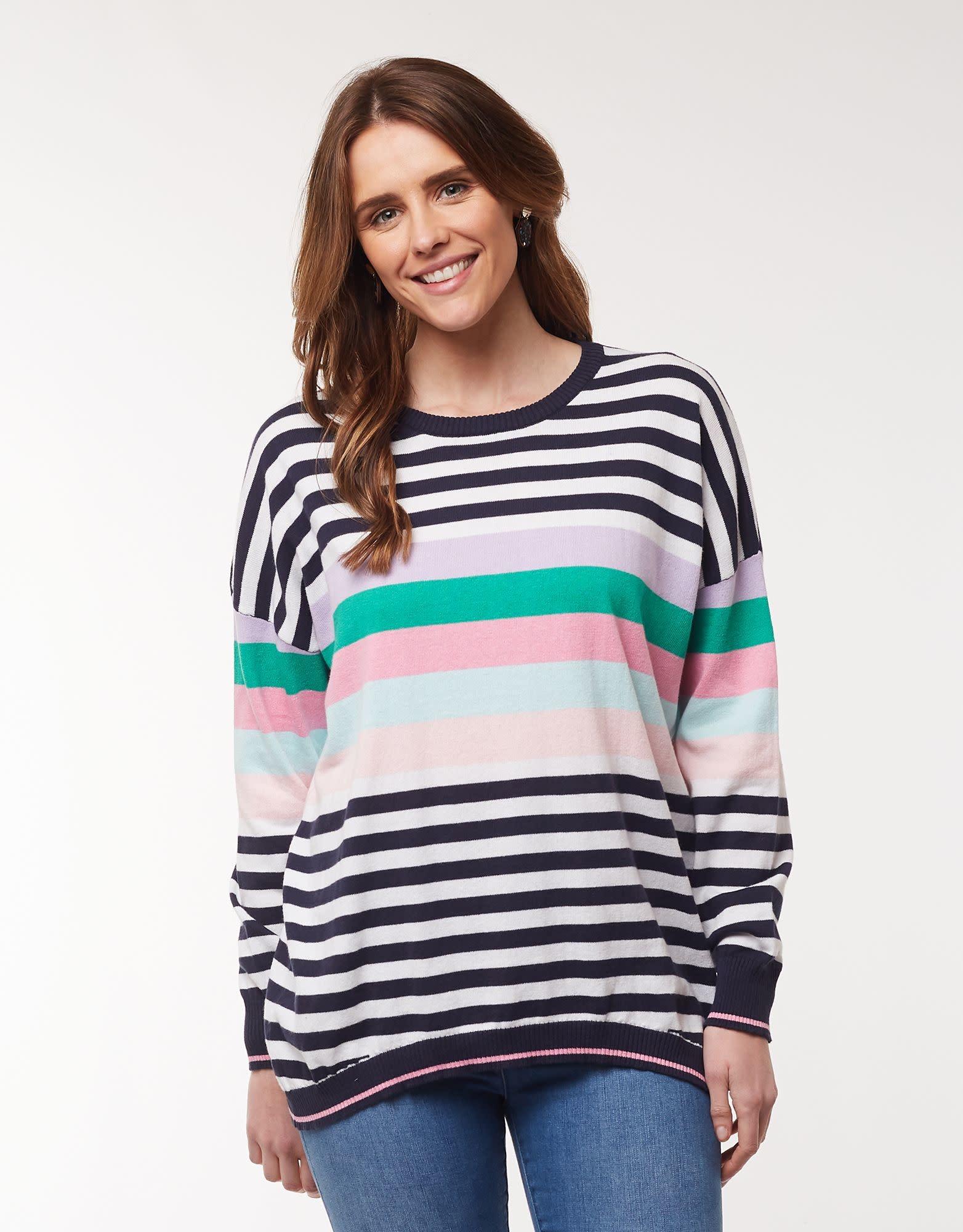 Elm Passion Stripe Knit