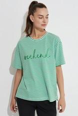 Tirelli Embroidered Stripe Tee