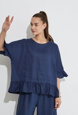 Tirelli Frill Hem Top